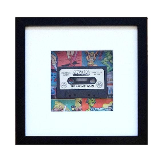 Masters of the Universe Heman Game Spectrum Cassette Framed Wall Art