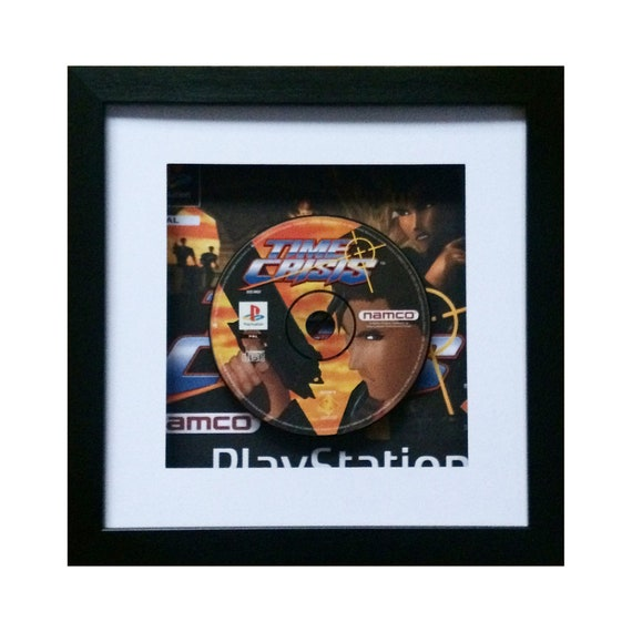 Time Crisis Playstation Game Framed Wall Art