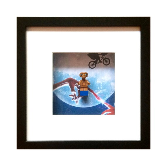 ET Minifigure Framed Wall Art picture- Fathers Day Gift Present