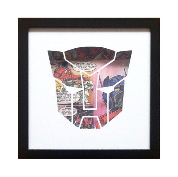 Transformers Autobots Silhouette Wall Art