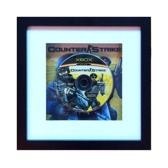 Counter Strike Xbox Game Framed Wall Art- Fathers Day Gift Present