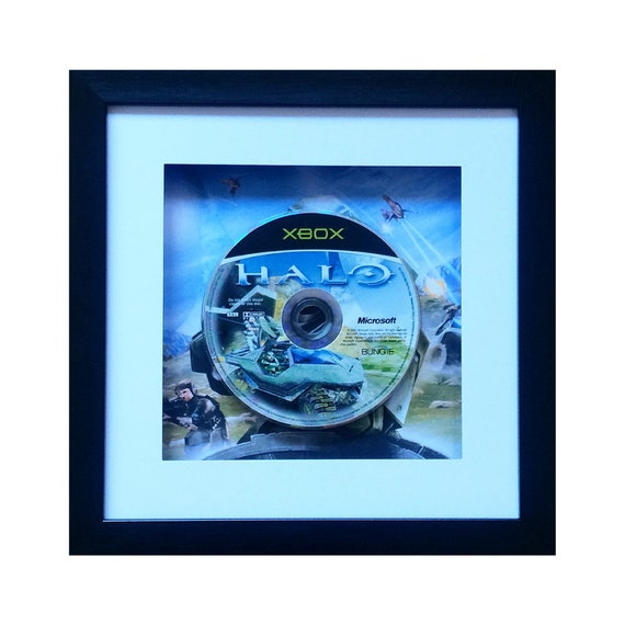 Halo Xbox Game Framed Wall Art