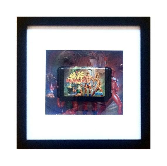 Japanese Golden Axe SEGA Megadrive Game Framed Wall Art