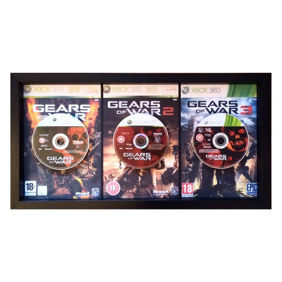 Gears of War 1, 2 & 3 Triptych Wall Art XBOX360
