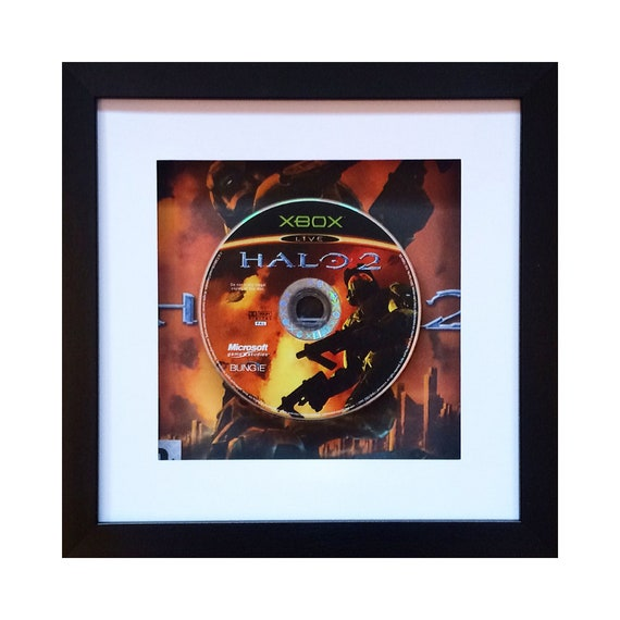 Halo 2 Xbox Game Framed Wall Art