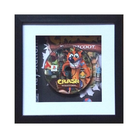 Crash Bandicoot Playstation Game Framed Wall Art