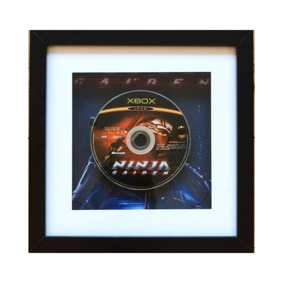 Ninja Gaiden Xbox Game Framed Wall Art- Fathers Day Gift Present