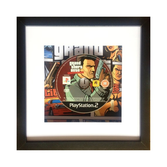 Grand Theft Auto Liberty City Stories Playstation 2 Game Framed Wall Art