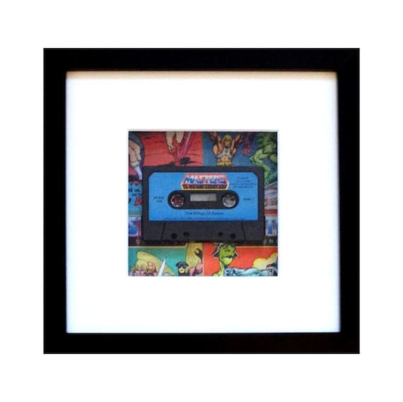 Masters Of The Universe Storybook Cassette Framed Wall Art