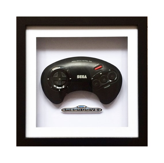 Genuine Sega Megadrive Controller Wall Art- Fathers Day Gift Present