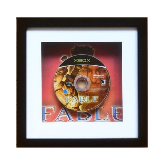 Fable Xbox Game Framed Wall Art- Fathers Day Gift Present