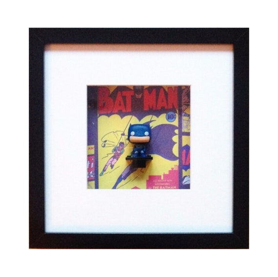 Batman Mini Funko figure Wall Art