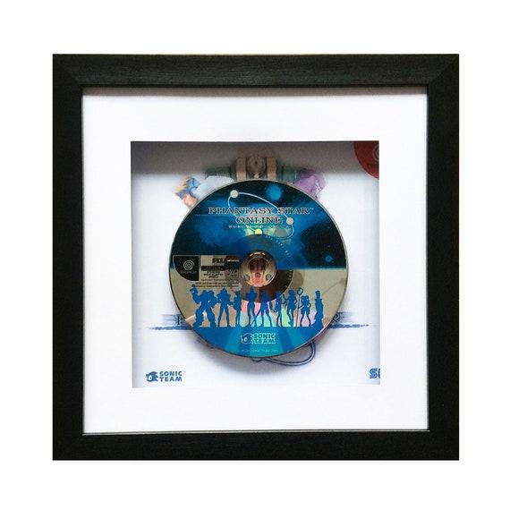 Japanese Phantasy Star Online Sega Dreamcast Framed Wall Art