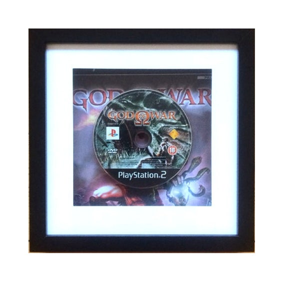 God of War Playstation 2 Game Framed Wall Art- Fathers Day Gift Present