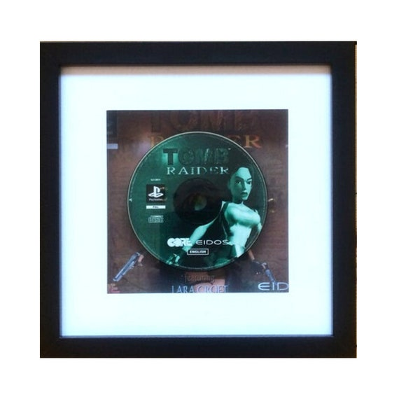Tomb Raider Playstation Game Framed Wall Art- Fathers Day Gift Present