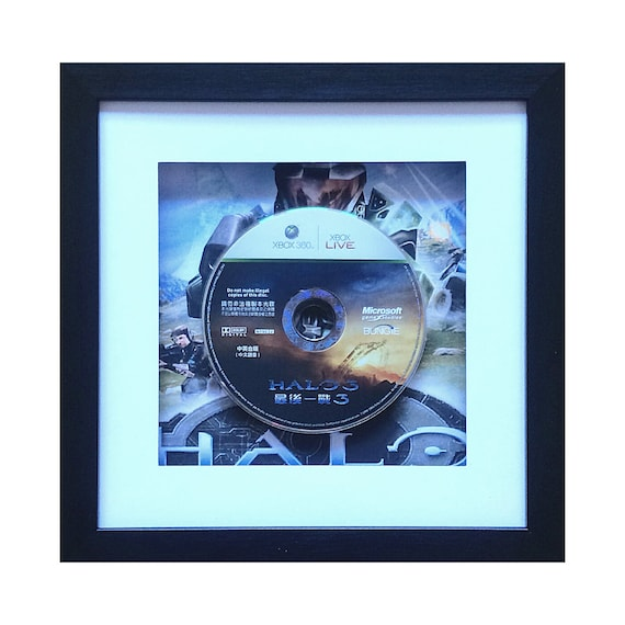 Japanese Halo 3 Xbox 360 Game Framed Wall Art