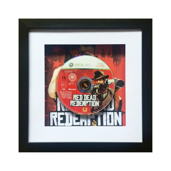 Red Dead Redemption Xbox 360 Game Framed Wall Art