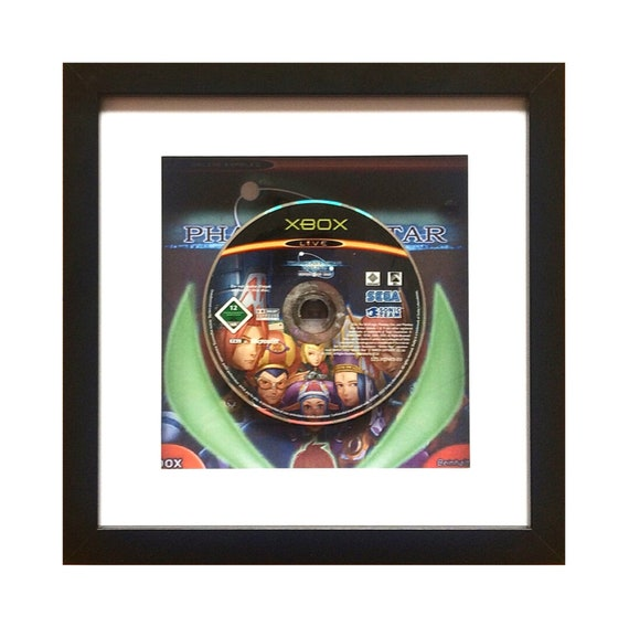 Phantasy Star Online XBOX Framed Wall Art- Fathers Day Gift Present