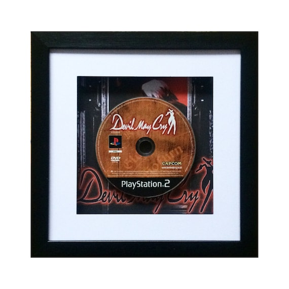 Devil May Cry Playstation 2 Game Framed Wall Art