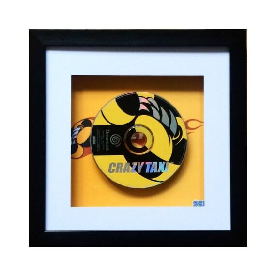 Crazy Taxi Sega Dreamcast Framed Wall Art