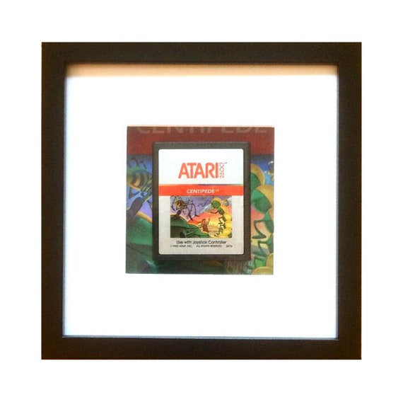 Centipede Atari 2600 Game Cart Framed Wall Art
