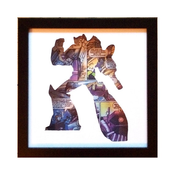Shockwave Silhouette Wall Art - Transformers Decepticons