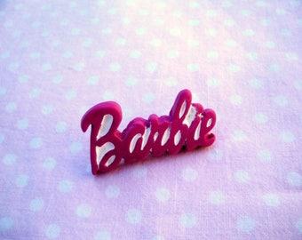 Brooch, kawaii, lolita, girly Barbie