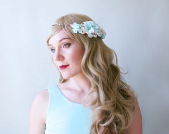 Beach wedding hair accessories. Beach wedding seashell wreath. Seashell hairpiece. Mermaid Head Wreath .Beach Wedding Head Circlet