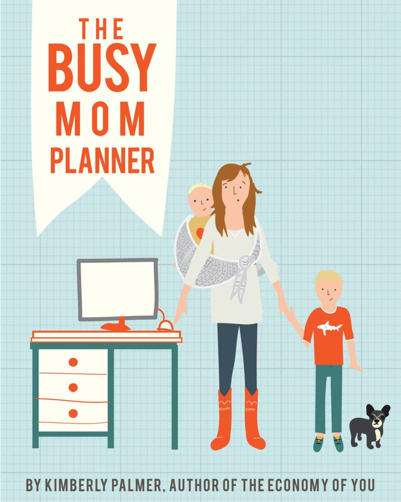 The Busy Mom Planner printable image 0