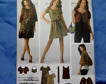 Simplicity 3533 Sewing Pattern, Easy to Sew Dress, Size H5 6, 8, 10, 12, 14