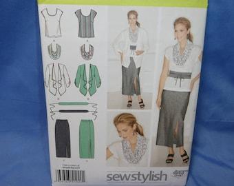 Simplicity 1920, Top, Skirt, Cardigan, Sewing Pattern, 10 - 18, uncut