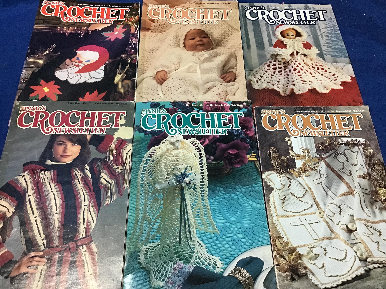 Annie/'s Crochet Newsletter Magazine September-October 1997 No 89