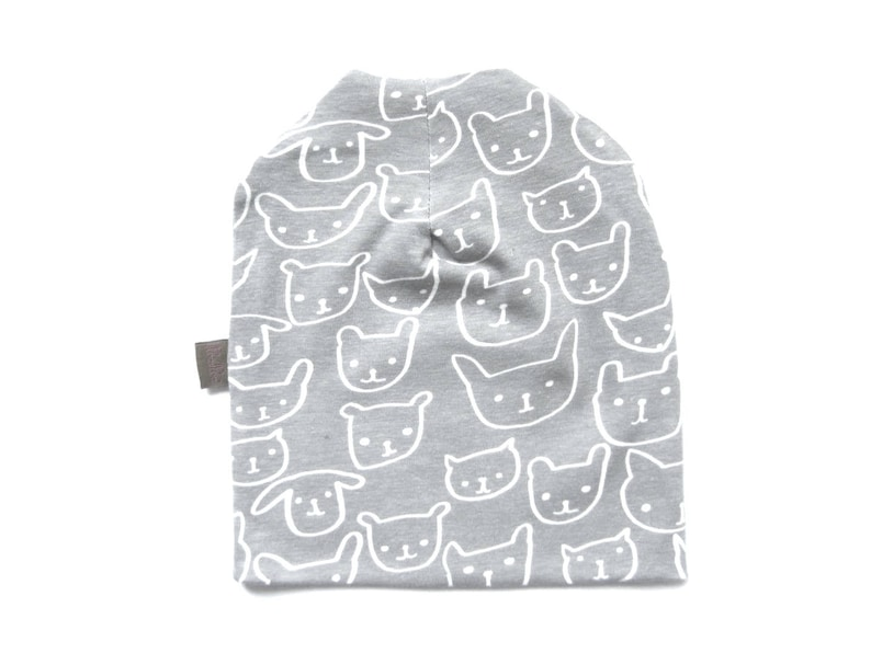 4843ff8e5e8b7 Slouchy Baby Beanie Gray Hat Toddler Infant Top Selling Items Ready to Ship