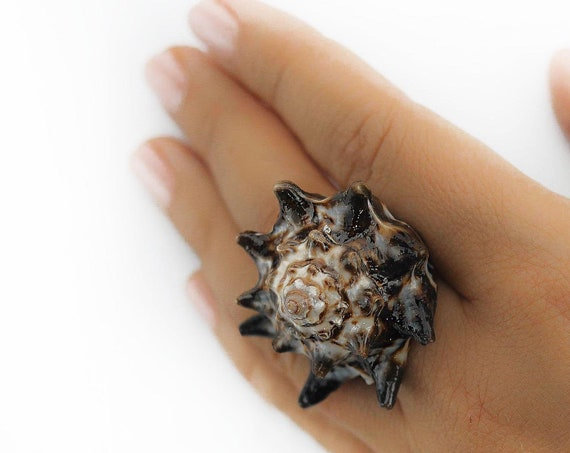 Jewelry Conch Shell Ring SeaStyle