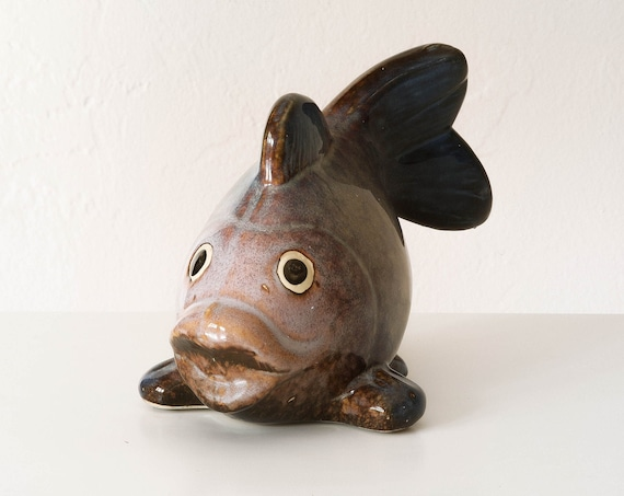 Ceramic Fish Handmade Beach decor by SEASTYLE
