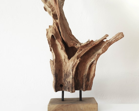 Drift Wood Piece on a stand Beach Décor by SEASTYLE