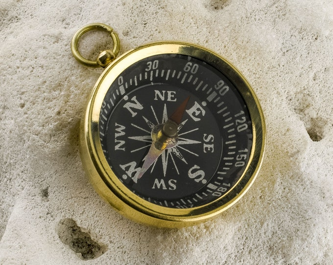 Compass Key-Chain Old Vintage Antique Style SeaStyle