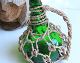 "Pirates Rum Jug 8,5"" Beach Decor, Grass, Green by SEASTYLE"