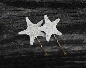 Boho Jewelry Starfish Barrette Hair Clip 2 pcs Handmade Gift by VERO for SeaStyle