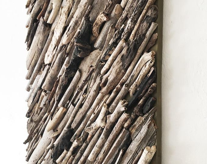 """Driftwood Wall Art 18x24"""" Beach Décor by SEASTYLE"""