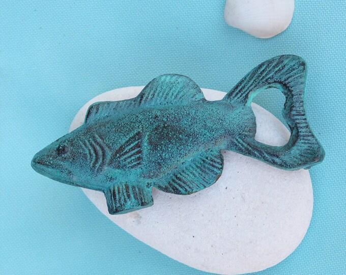 Coastal Decor Fish Bottle Opener Blue by SEASTYLE