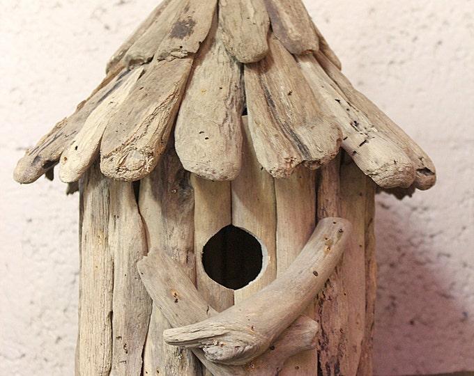 Beach Décor Driftwood small Birds House by SEASTYLE