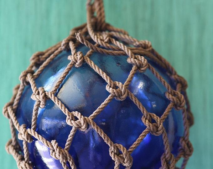 Dark Blue Big Vintage Fishing Float by SEASTYLE