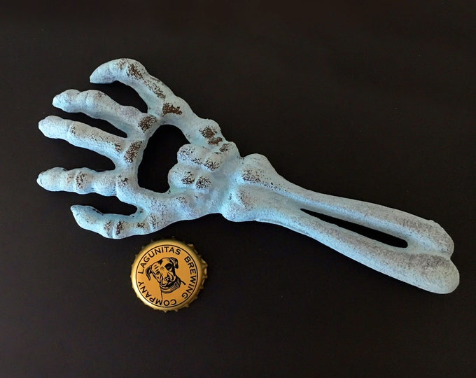Cast Iron Arm Bone Bottle Opener Beach Decor