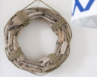 Driftwood Wreath, Beach Décor Nautical by SeaStyle