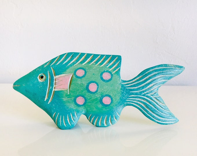 Wood Fish Aqua Beach Décor by SEASTYLE
