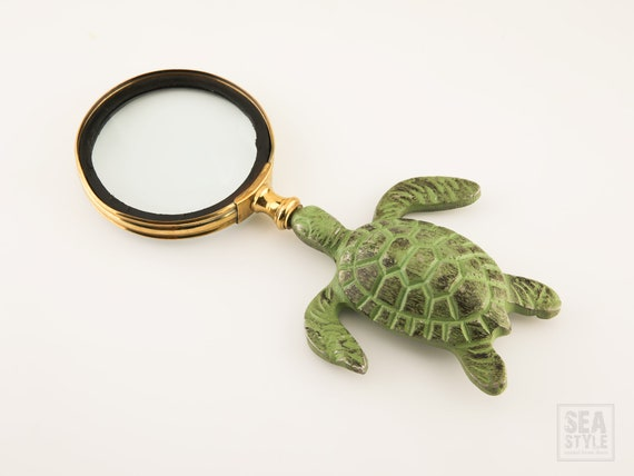 Magnifying glass Turtle Nautical Decor SeaStyle