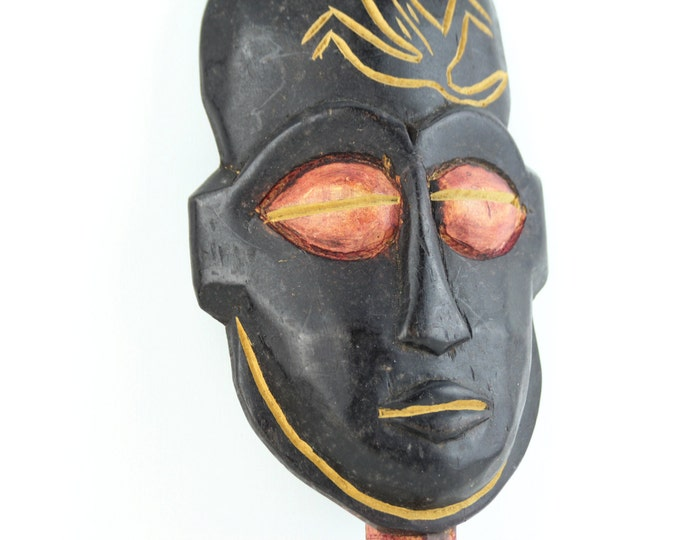 Sale 25% off Beach Decor Vintage Wooden Mask by SEASTYLE