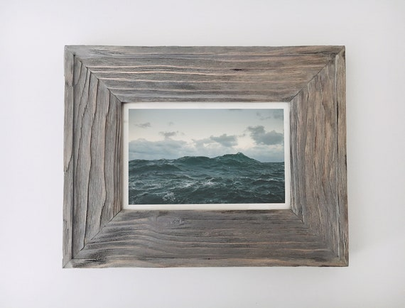 Nautical Picture Frame Driftwood Beach Decor, by SEASTYLE