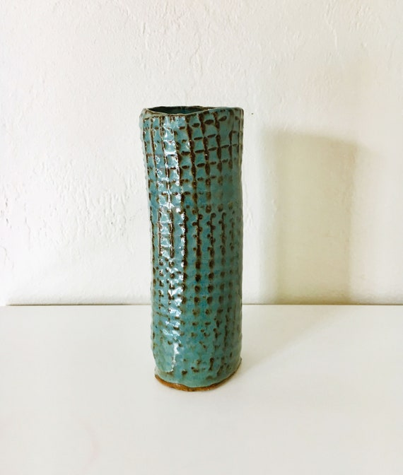 Beach decor Ceramic Handmade Vase by SEASTYLE